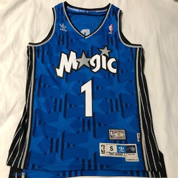 5571151a835 adidas Shirts | Orlando Magic Tracy Mcgrady Nba Jersey | Poshmark